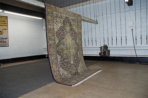 Certified Carpet - Area Rug Drying Process